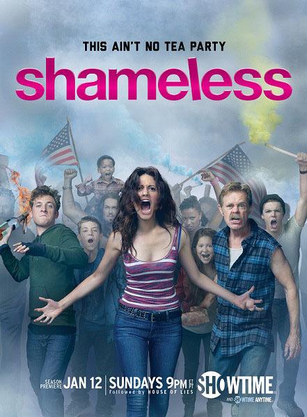 Póster de la cuarta temporada de Shameless