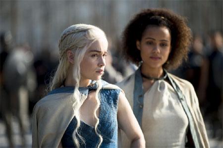 hablandoenserie - Juego de Tronos Daenerys y Missandei