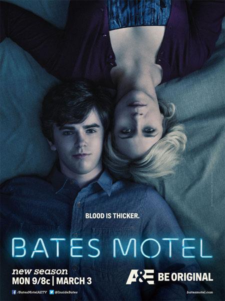 Póster de la segunda temporada de Bates Motel