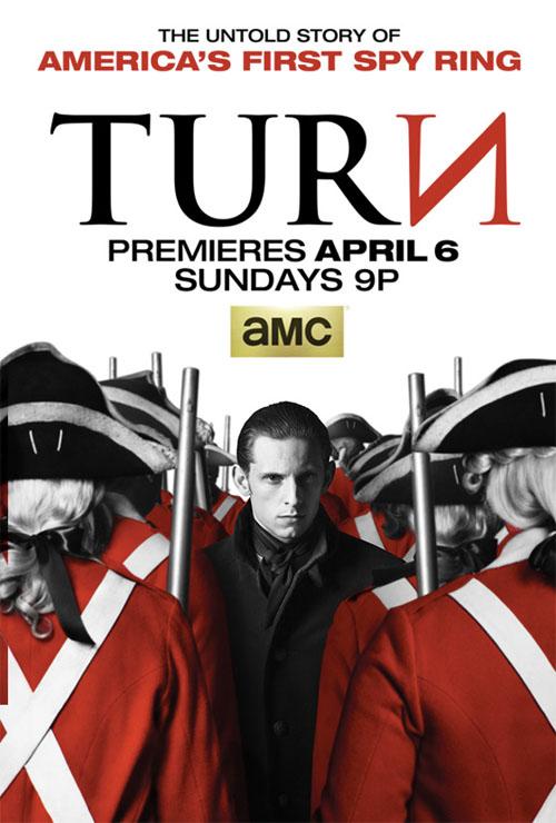 Póster de Turn, la nueva serie histórica de la AMC