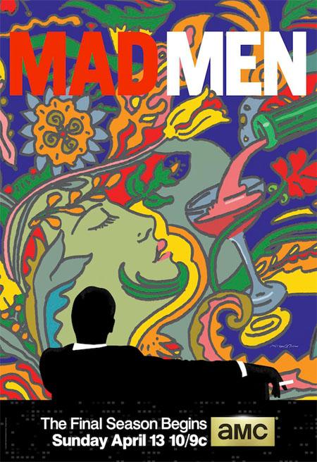 Póster oficial de la séptima temporada de Mad Men