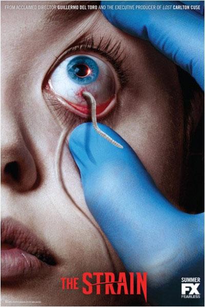 Póster de The Strain, la nueva serie de Guillermo del Toro
