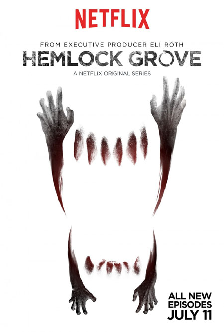 Póster de la segunda temporada de Hemlock Grove