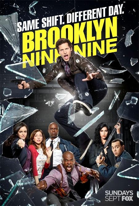 Póster de la segunda temporada de Brooklyn Nine-Nine