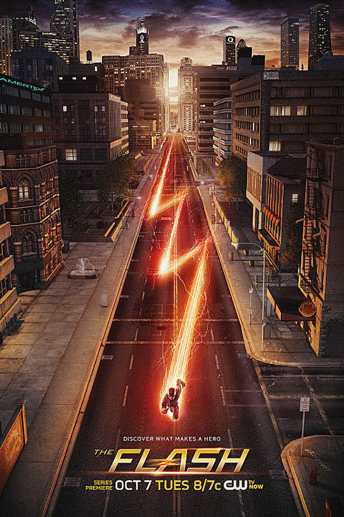 Póster de Flash, el spinoff de Arrow