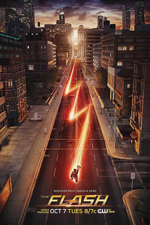 Póster de Flash, el spinoff de Arrow