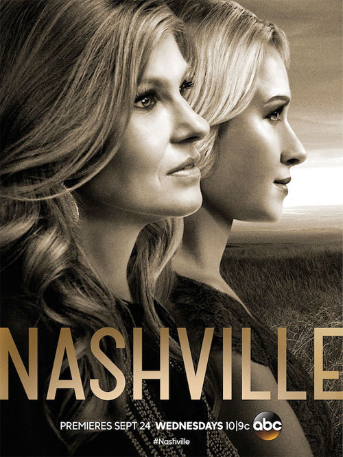 Póster de la tercera temporada de Nashville