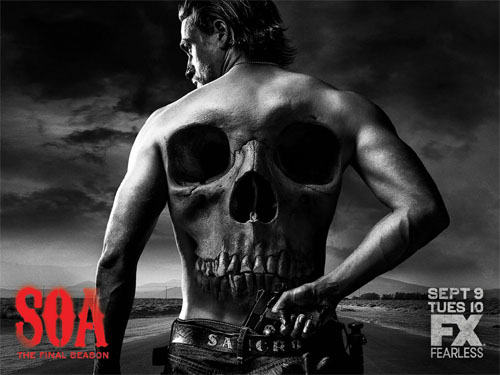 Póster de la última temporada de Sons of Anarchy