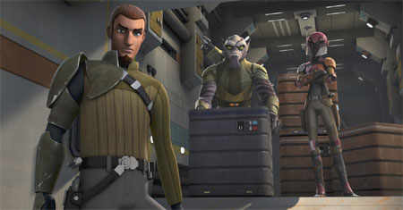 Primeros minutos de Star Wars Rebels