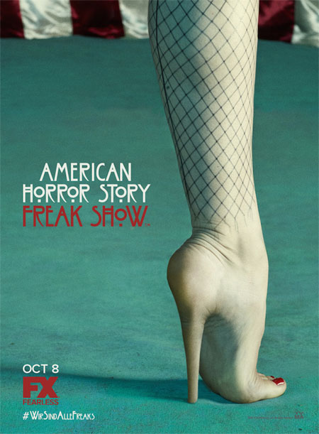 Nuevo póster de American Horror Story: Freak Show