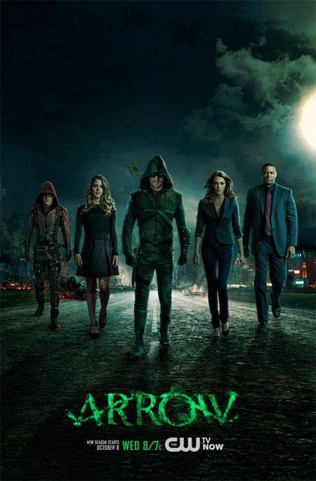Póster de la tercera temporada de Arrow
