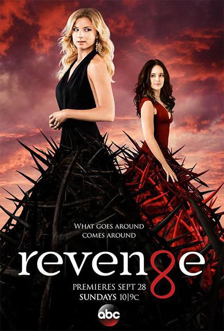 Póster de la cuarta temporada de Revenge