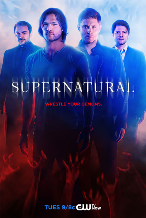 Póster de la décima temporada de Sobrenatural