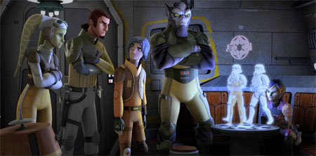 Disney renueva Star Wars Rebels por una segunda temporada