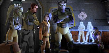 Disney renueva Star Wars Rebels por una segunda temporada