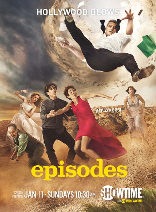 Póster de la cuarta temporada de Episodes