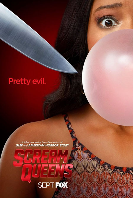 Tres pósters de Scream Queens
