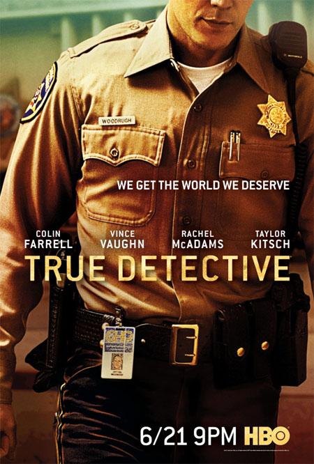 Pósters de la segunda temporada de True Detective