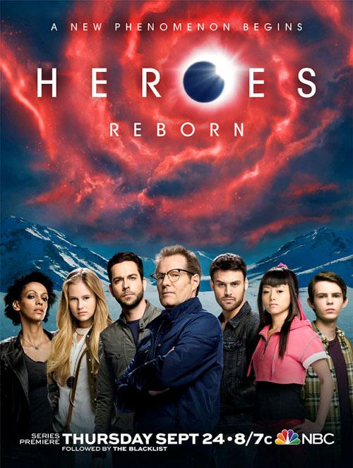 Póster oficial de Heroes: Reborn
