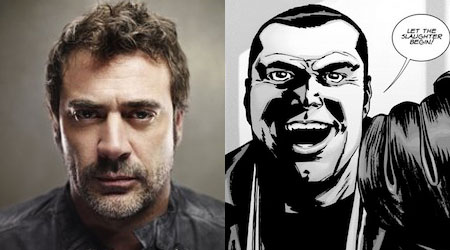 Jeffrey Dean Morgan será Negan en The Walking Dead