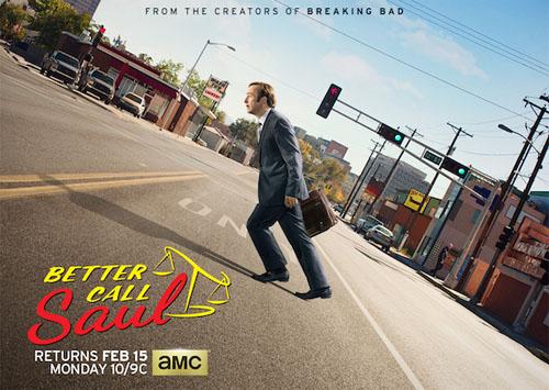 Póster de la segunda temporada de Better Call Saul