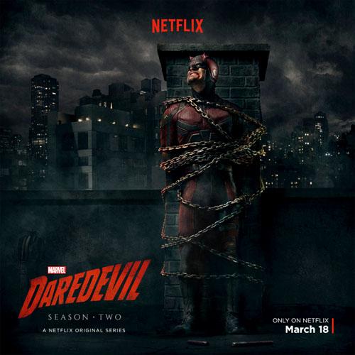 Primer póster de la segunda temporada de Daredevil
